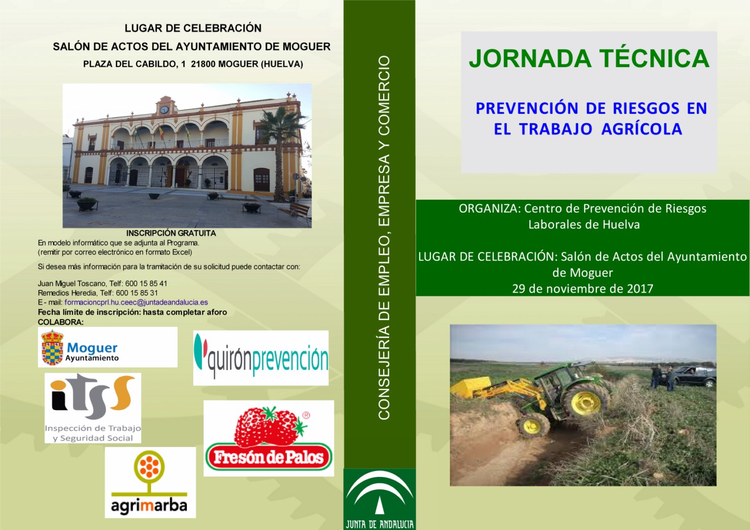 J.T. AGRICULTURA. 29-11-2017